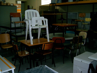 Compro Mesas e cadeiras para cafés, restaurantes e cantinas