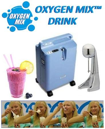 "Comprar Energy Health Drink equipment ""OXYGEN MIX"""