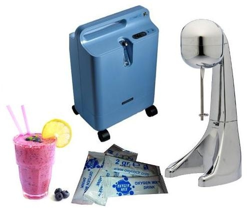 Comprar Oxygen cocktail equipment for health bar, fitness club & SPA