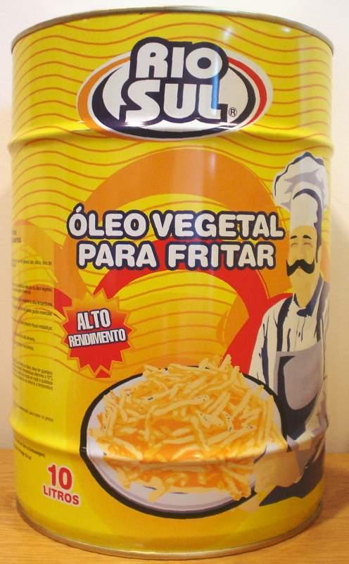Compro Óleo vegetal para fritar alto rendimento 10L
