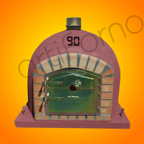 Comprar Wood Oven with Cork Isolation and Chimney