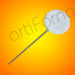 Compro Stainless steel pizza shovel (diameter 32 cm)