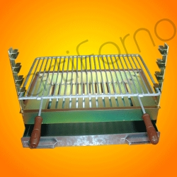 Compro Galvanized iron grill 60 x 40 cm (with one grid)