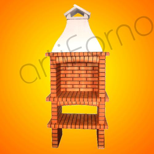 Compro Brick Barbecue Grill (BBQ) - Ref 124