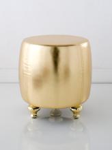 Compro Pouf dourado