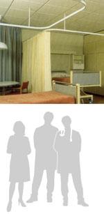 Compro Cortinas hospitalares