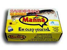 Compro Sardinha oleo 120 gr. Manná
