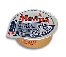 Comprar Pasta de Sardinha 22 gr. Manná