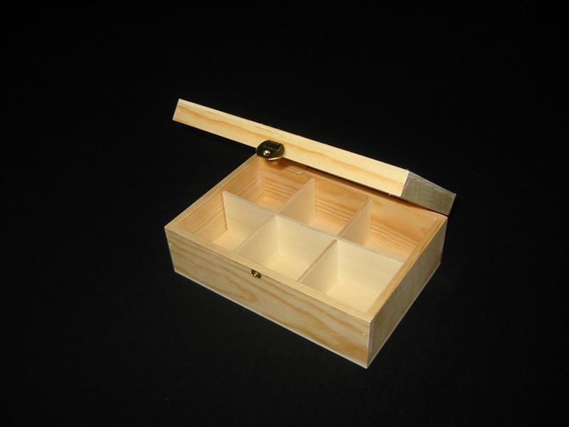 Compro Caixa de madeira