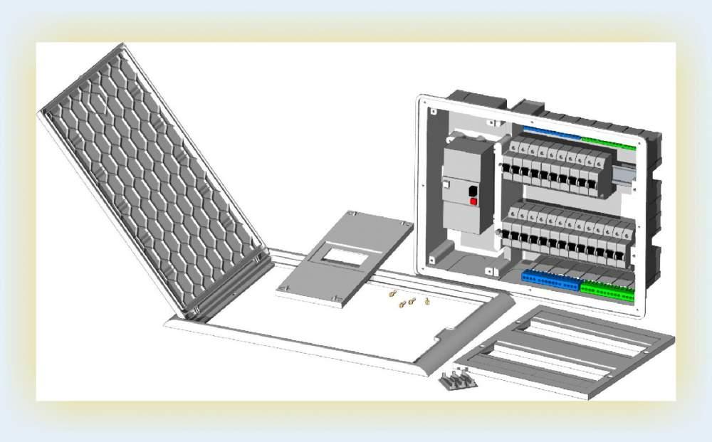 Compro Quadros de distribuicao e caixas ICT