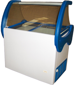 Comprar Congeladores horizontais de gelados a granel