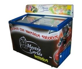 Compro Congeladores horizontais de gelados inclinados