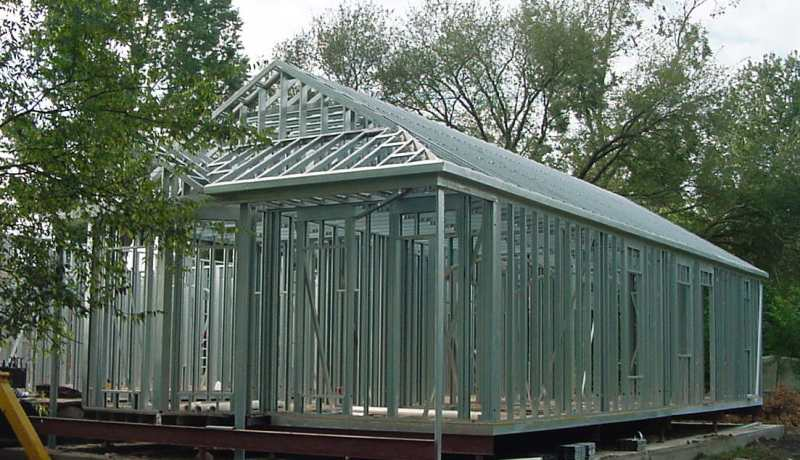 Compro Estrutura aço galvanizado em perfis