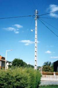 Compro Postes BT para rede eléctrica de baixa tensão