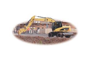Compro Escavadora de rodas M313D