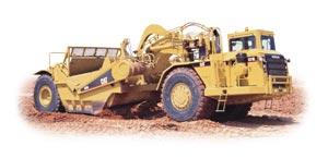 Compro 631G Wheel tractor scraper