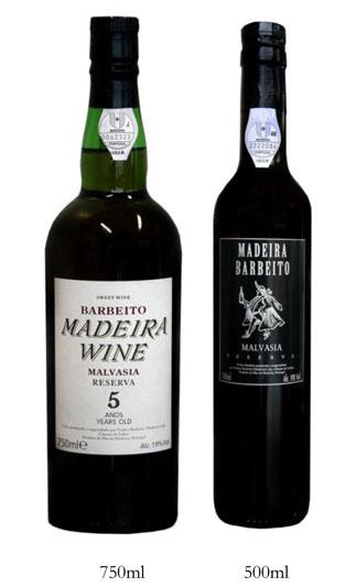 Comprar Barbeito Malvasia Reserva 5 Anos (Doce)
