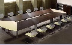 Mesas de reuniao