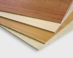 Laminated fibreboards