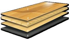 Flutuante de madeira