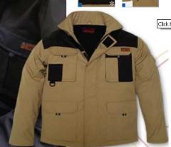 Vestuário trabalho industrial - Parka multibolsos