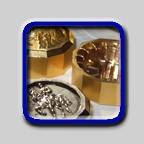 Cápsulas plásticas com metalização