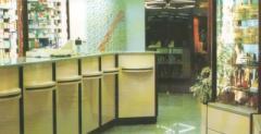 Mobiliário de farmácia