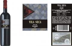 VINHO TINTO D.O.C. VILA SECA 0,75LT