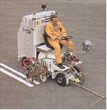Máquinas de marcar estradas