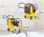 Máquinas de corte de asfalto