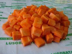 Cenoura cubo