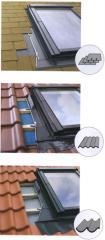 Juntas para telhados lisos ESV, ESJ