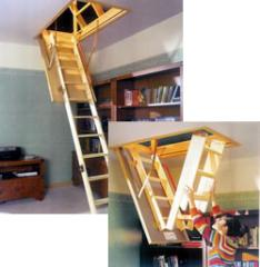 Escadas em madeira