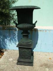 Vaso decorativo de jardim