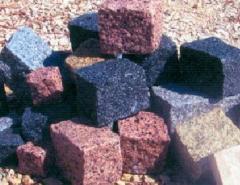 Mistura em granito e calcario