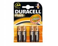 Duracell batteries AA plus 12+4's