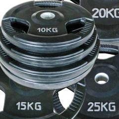 Discos aborrachado com pega 50 mm