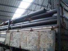 Tubo de aço carbono com costura Longitudinal