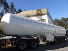 Cisterna semi-reboque