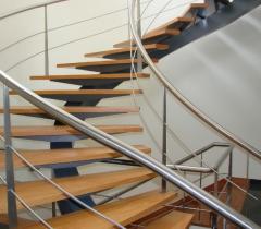 Escadaria redonda