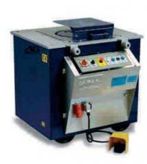 Maquina de cortar e dobrar ferro