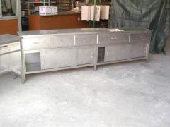 Mesas em inox industrial