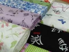 Tecido de lençol