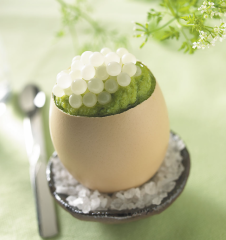 Caviar de caracóis