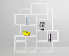 Estante Amovivel Stacked da Muuto