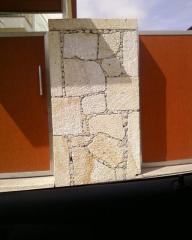 Pedra natural cortada para construção