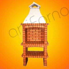 Brick Barbecue Grill (BBQ) - Ref 124