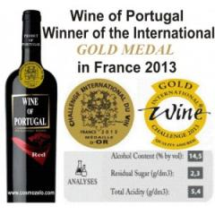 Red wine of Portugal