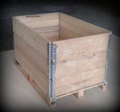 Aros / colares de madeira