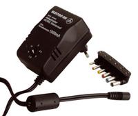 Alimentador electrónico AC/DC universal de 1.800
